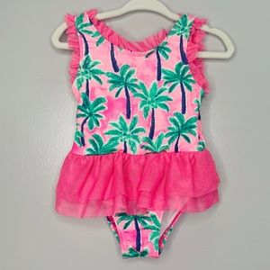 Penelope Mack Tropical Tutu Swimsuit 24 months